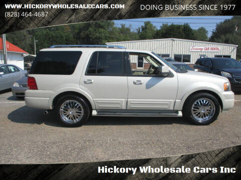 2006 Ford Expedition for sale at Hickory Wholesale Cars Inc in Newton NC