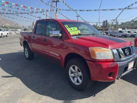 2011 Nissan Titan for sale at Los Compadres Auto Sales in Riverside CA