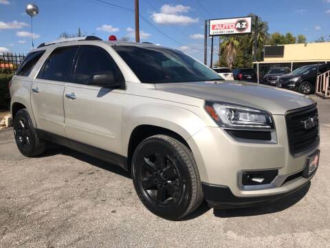 2016 GMC Acadia for sale at Auto A to Z / General McMullen in San Antonio TX