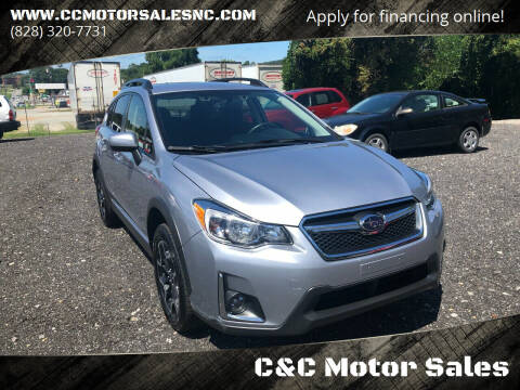 2017 Subaru Crosstrek for sale at C&C Motor Sales LLC in Hudson NC