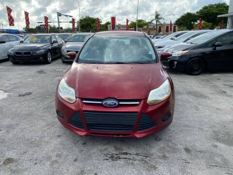 2013 Ford Focus for sale at America Auto Wholesale Inc in Miami FL