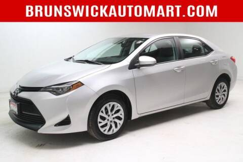 2018 Toyota Corolla for sale at Brunswick Auto Mart in Brunswick OH