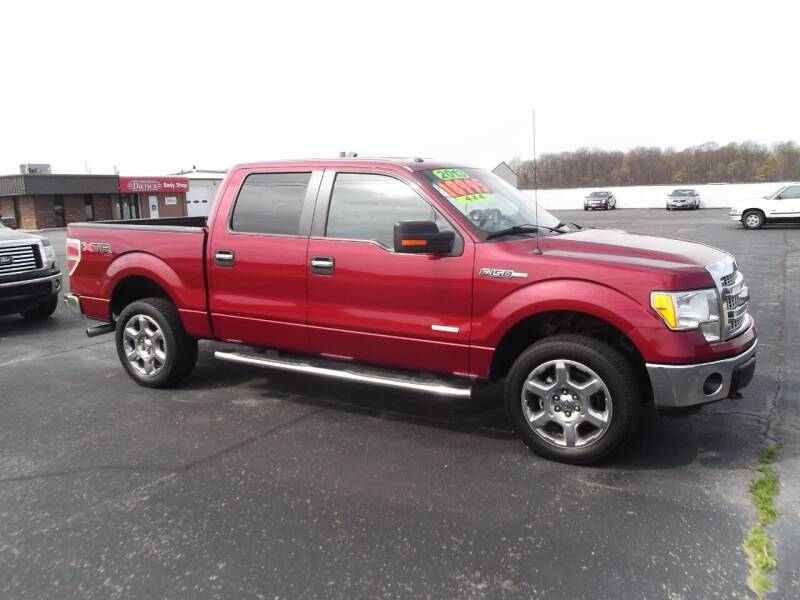 2013 Ford F-150 for sale at Dietsch Sales & Svc Inc in Edgerton OH