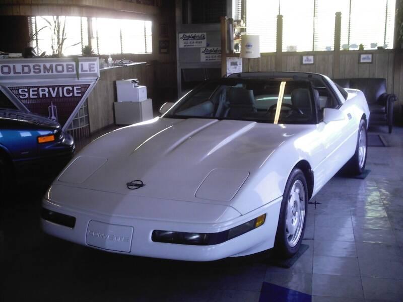 1993 Chevrolet Corvette for sale at STAPLEFORD'S SALES & SERVICE in Saint Georges DE