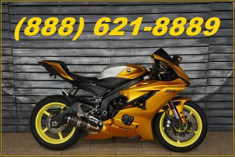 2017 Yamaha YZF-R6 for sale at AZautorv.com in Mesa AZ