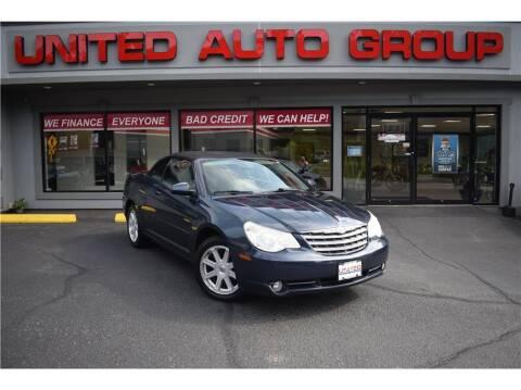 2008 Chrysler Sebring for sale at United Auto Group in Putnam CT