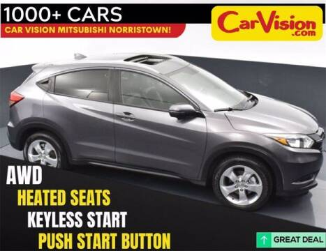 2016 Honda HR-V for sale at Car Vision Buying Center in Norristown PA