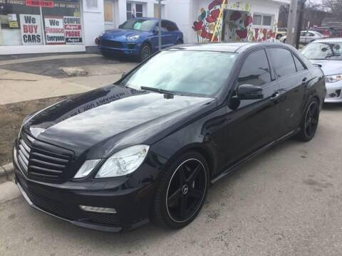 2010 Mercedes-Benz E-Class for sale at Steve's Auto Sales in Madison WI