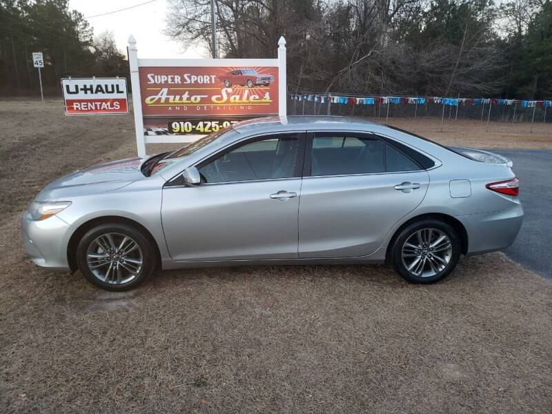 2017 Toyota Camry for sale at Super Sport Auto Sales in Hope Mills NC