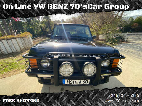 1995 Land Rover County LWB for sale at On Line VW BENZ 70'sCar Group in Warehouse CA