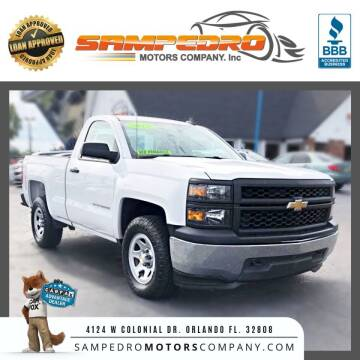 2015 Chevrolet Silverado 1500 for sale at SAMPEDRO MOTORS COMPANY INC in Orlando FL