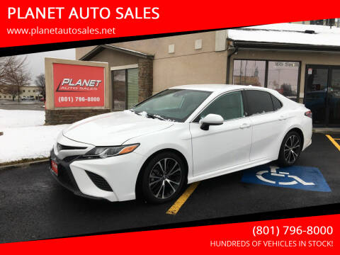 2019 Toyota Camry for sale at PLANET AUTO SALES in Lindon UT