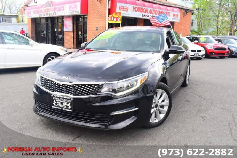 2018 Kia Optima for sale at www.onlycarsnj.net in Irvington NJ