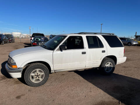 2000 Chevrolet Blazer for sale at PYRAMID MOTORS - Fountain Lot in Fountain CO
