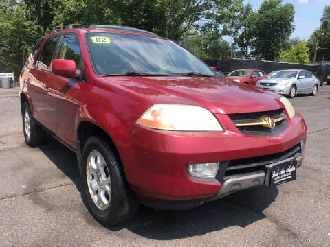 2002 Acura MDX for sale at PARK AVENUE AUTOS in Collingswood NJ