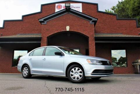 2015 Volkswagen Jetta for sale at Atlanta Auto Brokers in Cartersville GA