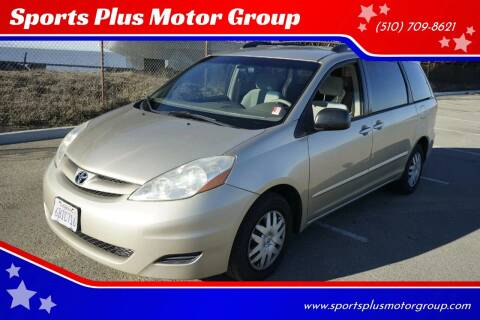 2007 Toyota Sienna for sale at Sports Plus Motor Group LLC in Sunnyvale CA
