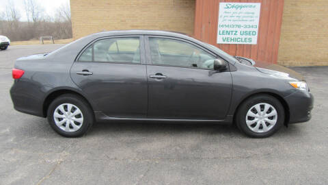 2009 Toyota Corolla for sale at LENTZ USED VEHICLES INC in Waldo WI