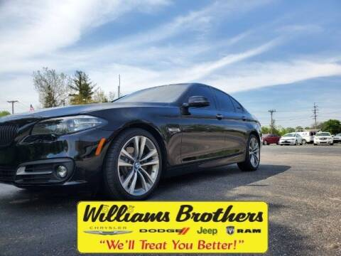 2016 BMW 5 Series for sale at Williams Brothers - Pre-Owned Monroe in Monroe MI