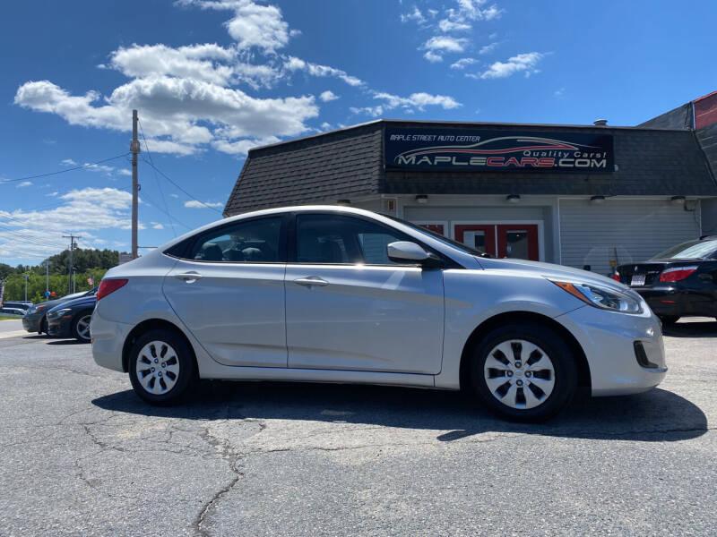 2015 Hyundai Accent for sale at Maple Street Auto Center in Marlborough MA
