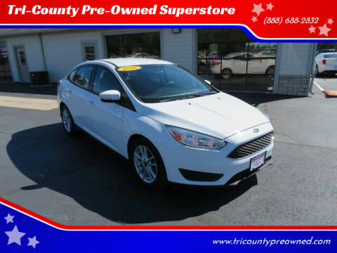 2016 Ford Focus for sale at Tri-County Pre-Owned Superstore in Reynoldsburg OH