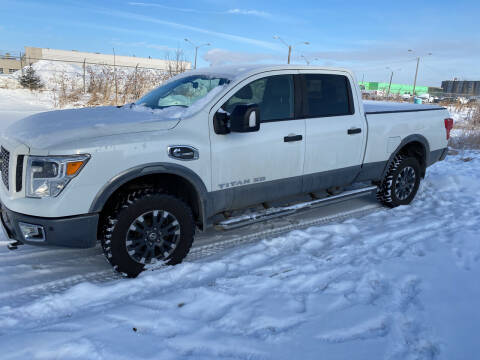 2016 Nissan Titan XD for sale at Canuck Truck in Magrath AB
