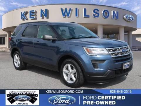 2018 Ford Explorer for sale at Ken Wilson Ford in Canton NC
