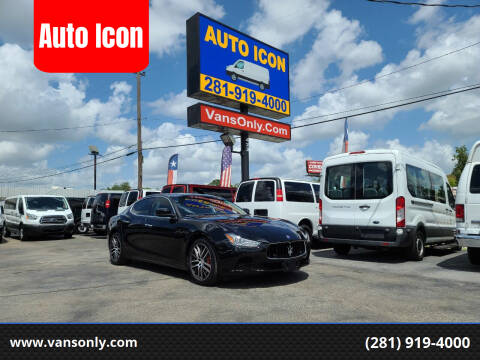 2016 Maserati Ghibli for sale at Auto Icon in Houston TX