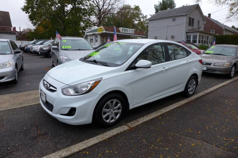 2013 Hyundai Accent for sale at FBN Auto Sales & Service in Highland Park NJ