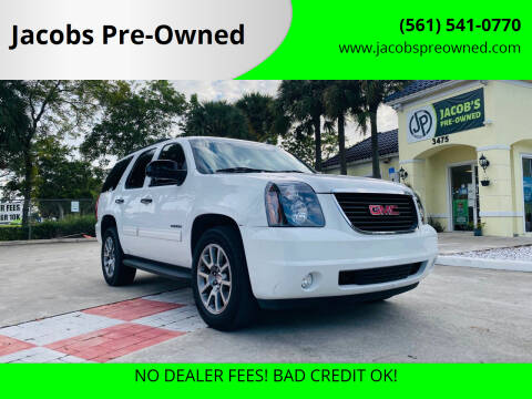 2012 GMC Yukon for sale at Jacobs Pre-Owned in Lake Worth FL