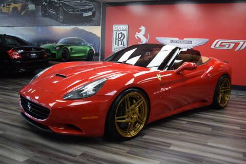 2010 Ferrari California for sale at Icon Exotics in Houston TX