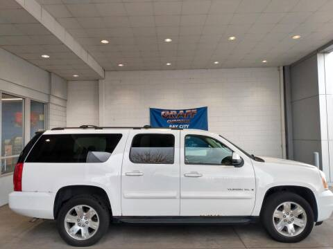 2008 GMC Yukon XL for sale at GRAFF CHEVROLET BAY CITY in Bay City MI