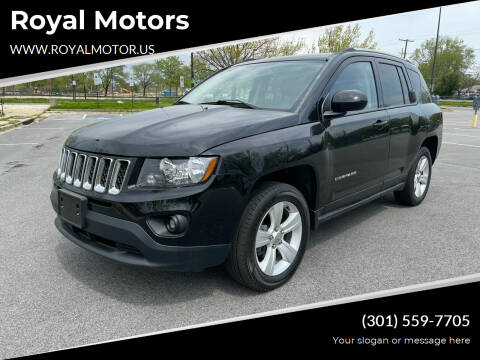 2016 Jeep Compass for sale at Royal Motors in Hyattsville MD