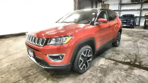 2017 Jeep Compass for sale at Waconia Auto Detail in Waconia MN