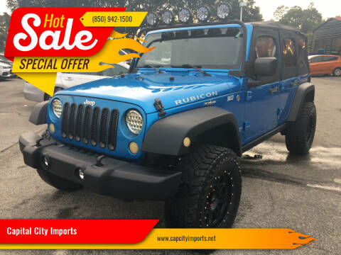 2010 Jeep Wrangler Unlimited for sale at Capital City Imports in Tallahassee FL