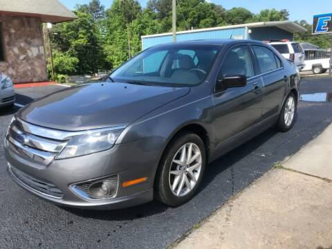 2010 Ford Fusion for sale at E Motors LLC in Anderson SC