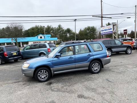 2007 Subaru Forester for sale at New Wave Auto of Vineland in Vineland NJ