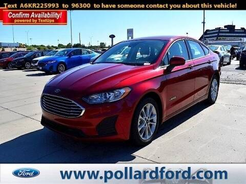 2019 Ford Fusion Hybrid for sale at South Plains Autoplex by RANDY BUCHANAN in Lubbock TX
