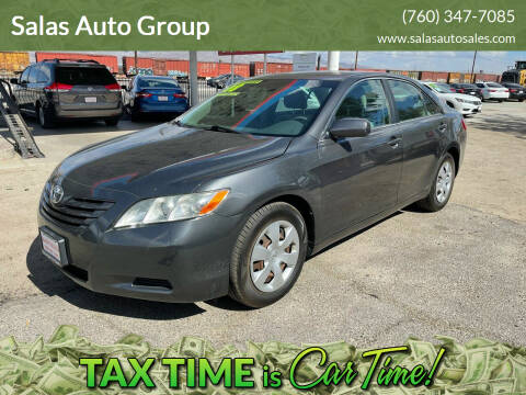 2008 Toyota Camry for sale at Salas Auto Group in Indio CA