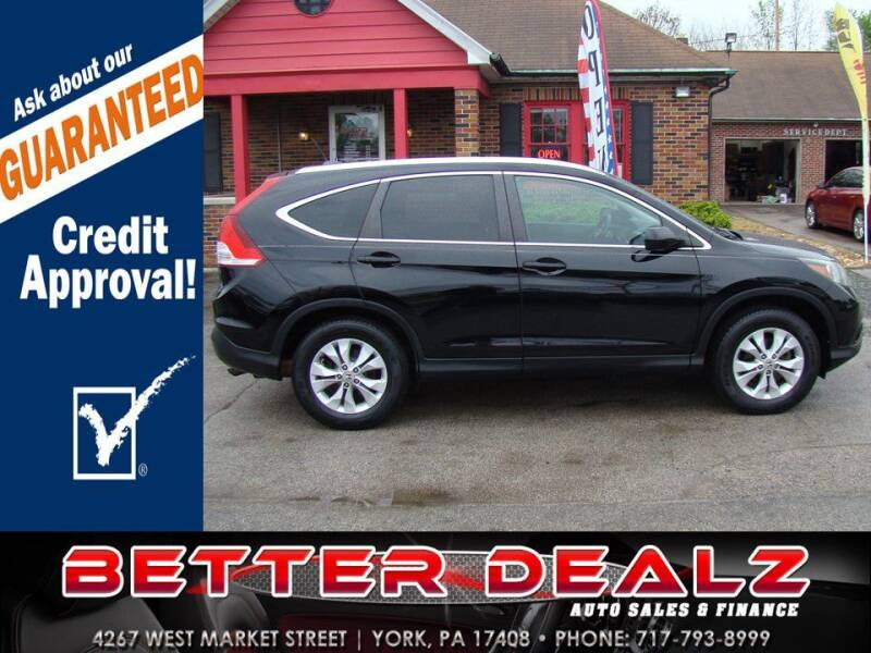 2014 Honda CR-V for sale at Better Dealz Auto Sales & Finance in York PA