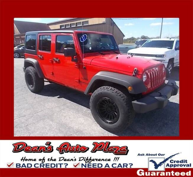 2017 Jeep Wrangler Unlimited for sale at Dean's Auto Plaza in Hanover PA
