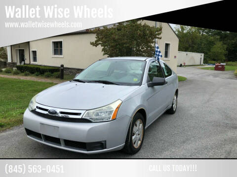 2008 Ford Focus for sale at Wallet Wise Wheels in Montgomery NY