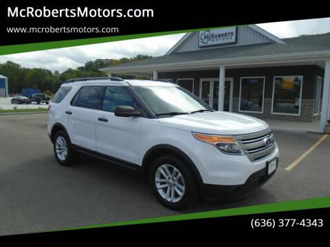 2015 Ford Explorer for sale at McRobertsMotors.com in Warrenton MO