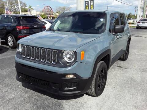 2018 Jeep Renegade for sale at YOUR BEST DRIVE in Oakland Park FL