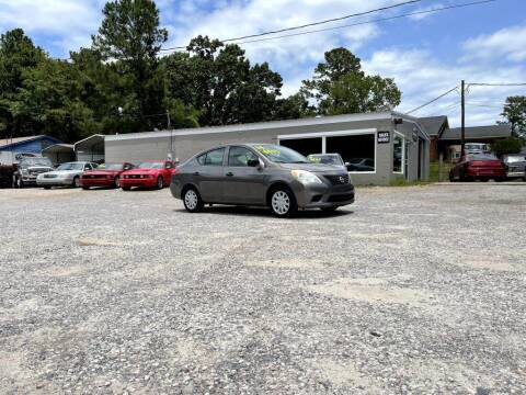 2014 Nissan Versa for sale at Barrett Auto Sales in North Augusta SC