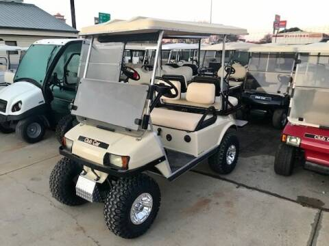 2008 Club Car DSG 4 Passenger Gas Lift for sale at METRO GOLF CARS INC in Fort Worth TX