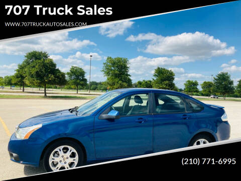 2009 Ford Focus for sale at 707 Truck Sales in San Antonio TX