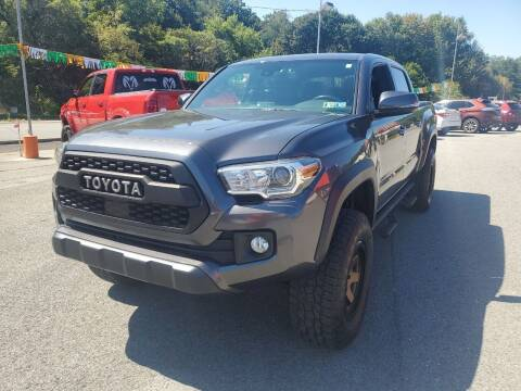 2018 Toyota Tacoma for sale at Mulligan's Auto Exchange LLC in Paxinos PA