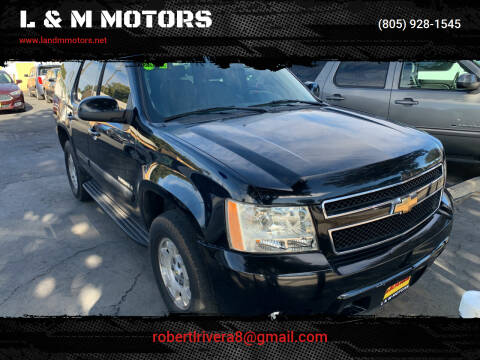 2007 Chevrolet Tahoe for sale at L & M MOTORS in Santa Maria CA