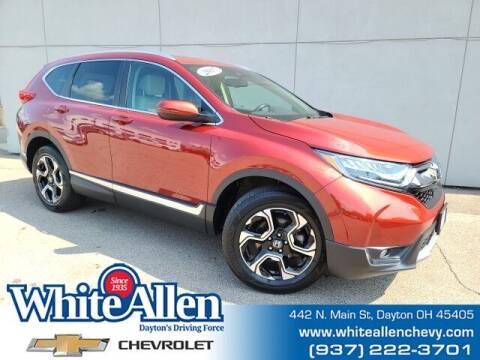 2017 Honda CR-V for sale at WHITE-ALLEN CHEVROLET in Dayton OH